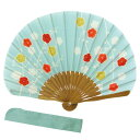 和雑貨・京都くろちくおしゃれ扇子セットシェル型扇子 箱に入ってます扇子入れ付