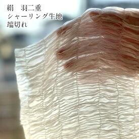 絹 生地 はぎれ 端切れ シルク シャーリング 国産 日本 羽二重 50センチ カット販売 伸びる 手芸 マスク作成 はぎれ 絹100% 日本製 送料無料 紫外線 ナイトキャップ 手袋 ナイト ヘアー 美肌 枕カバー 保湿 UV きぬ 生地 布 高級