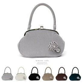 バッグ つまみ細工 がま口バッグ パーティー 成人式 卒業式 結婚式 レディース 婦人 女性 洒落用 ベルベット 赤 紺 黒