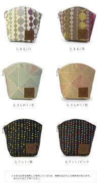 1.まる/白,2.まる/茶,3.さんかく/水,4.さんかく/黄,5.ドット/紫,6.ドット/ピンク