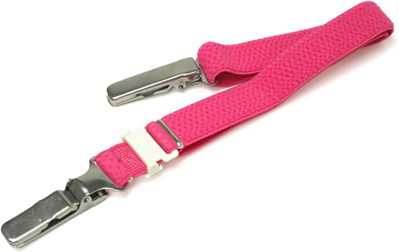 着物の衿元の開きを防ぐ着物ベルト 濃いピンク メール便不可 あす楽