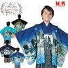 七五三才男児羽織袴トータルセット-全2柄-七五三着物5歳新作七五三5才男の子セットお祝い着物