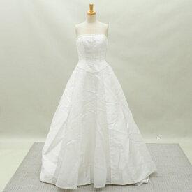 2f55e83df16db リサイクルドレスウエディングドレス 9号 c1228 中古 ドレス ウエディングドレス 発表会 ウエデイング
