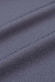 東レシルック奏美紋意匠色無地着尺美ゆき紫紺鼠 No.5607