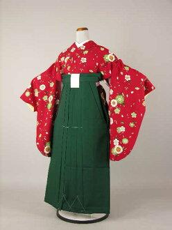 Target coupon period between qualified teacher graduation ceremony kimono kimono is still reciprocating graduation hakama rental 2 isometric sleeve plain hakama set College, Junior College, College elementary school, junior high and high school No, 2L58