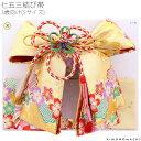 3歳の女の子向け 結び帯「ゴールド 桜」七五三 二部式帯 付け帯 日本製 (Sサイズ) 女児 753 <H>【メール便不可】