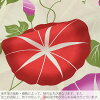 "Yukata yukata for the yukata set Lady's adult yukata set yukata three points set (yukata + obi + clogs) ""morning glory red X purple + half-breadth sash red"" fireworks display summer festival woman for women"