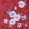 "Hakama one piece of article for the hakama one piece of article ""embroidery medium size /L size of the red shading off cherry tree"" graduation ceremony hakama Lady's undivided hakama woman"