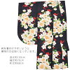 """Three points of hakama set graduation ceremony woman sets """"two shaku sleeves: black camellia and plum + hakama: embroidery + underpants Zone of the crimson shading off cherry tree is a red, green, yellow, pink"""" lady's hakama set two shaku sleeve kimono s"""