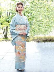 【レンタル】 訪問着 レンタル h-59_houmongi【七五三 卒業式 入学式 結婚式 披露宴 参列】