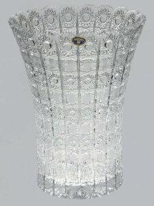 ボヘミアクリスタル 花瓶 35cm 最高級 クリスタルガラス 花束 ドライフラワー プロポーズ お祝い 記念日 インテリア ホテル マンション エントランス 輝く ヨーロッパ製 ヨーロッパ雑貨 おし