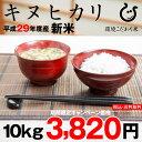 【新米!】キヌヒカリ 環境こだわり米 10kg 【平成29年:滋賀県産】