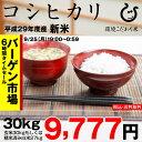 【新米!】コシヒカリ 環境こだわり米 玄米のまま30kgまたは精米済み白米27kg【平成29年・滋賀県産】