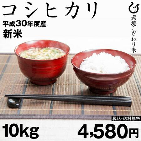 【新米!】コシヒカリ10kg【平成29年:滋賀県産】あす楽対応♪【送料無料】