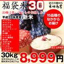 【福袋30】玄米のまま30kgもしくは精米済み白米27kg【平成28年・滋賀県産】【送料無料】1袋でのお届けとなります!