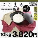 にこまる 『最高級品種』  10kg【平成28年・滋賀県産】【送料無料】