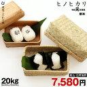 【令和元年:最後の特別米】ヒノヒカリ 玄米のまま20kgもしくは精米済み白米20kg【令和元年:滋賀県産】