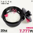 【2月の特別米】きぬむすめ 環境こだわり米 玄米のまま20kgもしくは精米済み白米20kg【令和元年:滋賀県産】