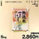 特A 無洗米 コシヒカリ 5kg 令和元年 滋賀県産 送料無料