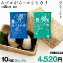 特Aセット 近江米 みずかがみ 5kg + コシヒカリ 5kg 合計 10kg 令和元年 滋賀県産 送料無料