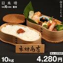 日本晴 環境こだわり米 10kg【令和元年:滋賀県産】【送料無料】