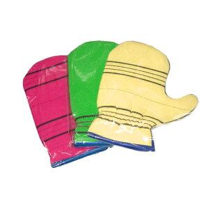 韓国 あかすり タオル B 1枚 手袋型 定形外郵便