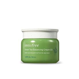 イニスフリー innisfree グリーンティ バランシング クリーム green tea balancing cream EX 50ml 韓国コスメ 乳液 混合肌 緑茶 送料無料(北海道、東北、沖縄、離島は別途送料)