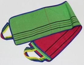 韓国 背中 あかすり タオル 1枚 ポケット付き 韓国直輸入 背中用 ハンド 定形外郵便