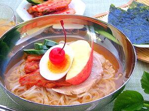 【6人前】宮廷冷麺と挟み込みキムチのセット(2人前冷麺×3・挟込500)[韓国食材 韓国冷麺 レイメン スープレイメン スープ冷麺〕