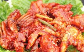 ケジャン 500g 渡りガニ カニキムチ ボリューム満タン 韓国の市場シジャン直送 小ぶりで柔らかい ヤンニョム 辛い 酒のおつまみ 韓国おかず ご当地グルメ 本場 お取り寄せ わたりガニ 韓国食材 韓国食品 韓国料理
