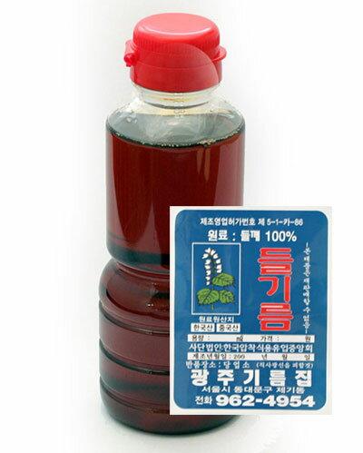 【260g】えごま油(えごまの葉)[韓国食材]