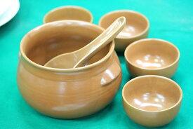 マッコリのお供、ハンアリ6点セット[韓国食器] お取り寄せ(陶器ではありません)