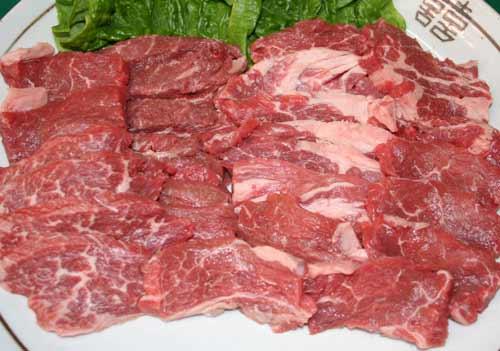 牛カルビ焼き肉用(400g+タレ100g)オーストラリア産穀物飼育【焼肉 焼き肉セット バーベキュー BBQ】