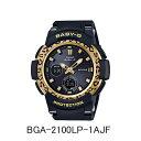カシオ腕時計 BGA-2100LP-1AJFLeopard Pattern Series(レオパード パターン シリーズ)ブラック(ベゼル/ゴールド)メーカー1年保証 …