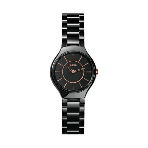 正規品 ラドー腕時計 R27.742.15.2ラドー トゥルー シンライン(レディス)黒 RADO TRUE THINLINEメーカー2年保証 RADO-R27742152【送料無料】