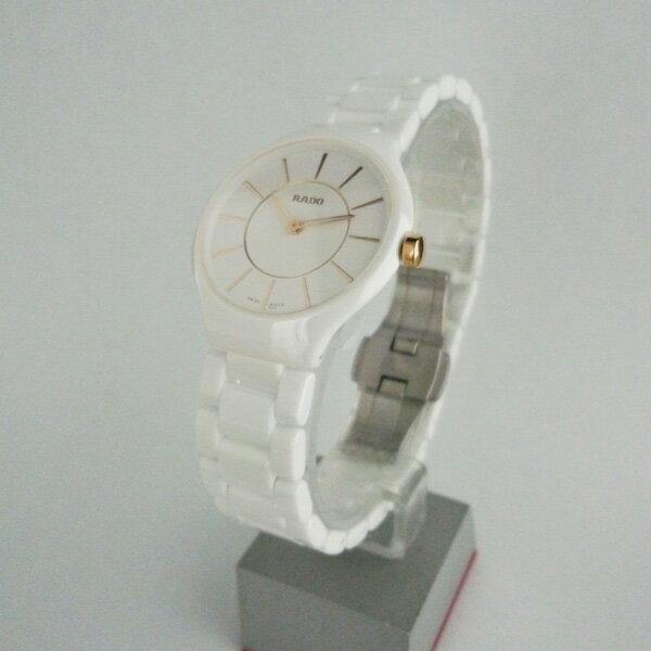 正規品 ラドー腕時計 R27.958.10.2ラドー トゥルー シンライン(レディス)白RADO TRUE THINLINEメーカー2年保証 RADO-R27958102【送料無料】