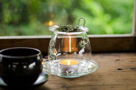 茶和家 茶香炉 耐熱ガラス製 (キャンドル一個付) ギフトラッピング可