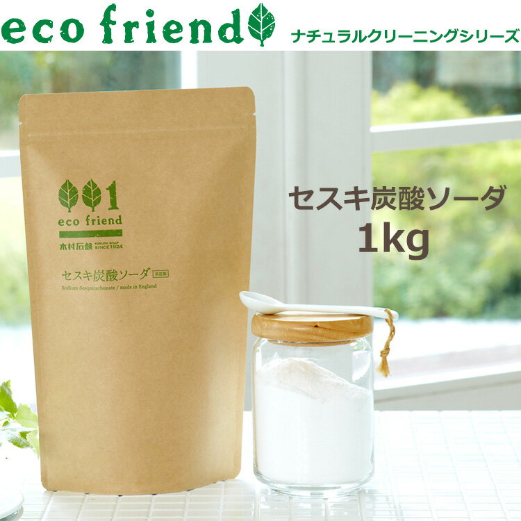 eco friend /セスキ炭酸ソーダ 1kg/掃除用 ナチュラル原料 粉末
