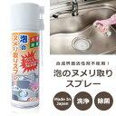 /泡のヌメリ取りスプレー /220ml シンク用洗剤 排水口・三角コーナー掃除