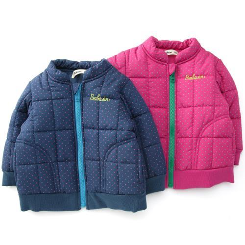 【エントリーでポイント10倍 11/21 9:59まで】 【あす楽】Bobson (ボブソン) ブルゾン(80〜130cm ) 【冬物】キムラタンの子供服