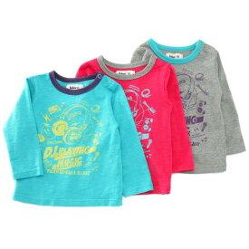 【均一市SALE アウトレットセール】Bobson (ボブソン) 長袖Tシャツ(80〜130cm ) キムラタン 子供服