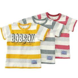 Bobson (ボブソン) 半袖Tシャツ(80〜130cm ) 【初夏物】キムラタン 子供服 あす楽