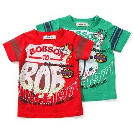 【50%OFF SALE アウトレットセール】Bobson (ボブソン) 半袖Tシャツ(80〜130cm ) 【夏物】キムラタン 子供服 あす楽
