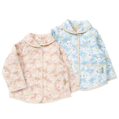 【あす楽】Biquette Club (ビケットクラブ) キルトブルゾン (80〜130cm ) 【春物】キムラタンの子供服