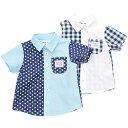 Bobson (ボブソン) 半袖シャツ (80〜130cm) 【初夏物】キムラタンの子供服