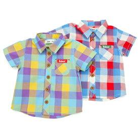 【50%OFF SALE アウトレットセール】Bobson (ボブソン) 半袖シャツ (80〜130cm) 【初夏物】キムラタン 子供服 あす楽