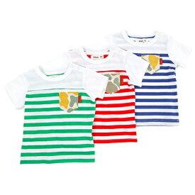 【50%OFF SALE アウトレットセール】Bobson (ボブソン) 半袖Tシャツ (80〜130cm) 【夏物】キムラタン 子供服 あす楽