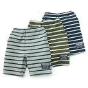 Bobson (ボブソン) ハーフパンツ (80〜130cm) 男の子 ボーダー 初夏物 80 90 95 100 110 120 130 キムラタンの子供服
