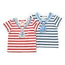Piccolo (ピッコロ ) 半袖Tシャツ (70〜90cm) 男の子 夏物 70 80 90 キムラタンの子供服 ボーダー ランキングお取り寄せ