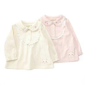 coeur a coeur (クーラクール ) ブラウスTシャツ (70〜100cm) 女の子 秋物 70 80 90 95 100 キムラタン 子供服 あす楽